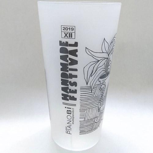 Bicchiere per la XII edizione di Handmade Festival